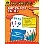Teacher Created Resources Daily Warm-Ups: Language Skills Book,
