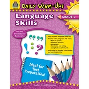 Teacher Created Resources Daily Warm-Ups: Language Skills Book, Grades 5