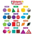 Teacher Created Resources Mini Bulletin Board Set, Shapes All Around