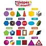 Teacher Created Resources Mini Bulletin Board Set, Shapes