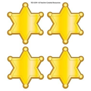 Teacher Created Resources Western Sheriff Stars Wear'Em Badge