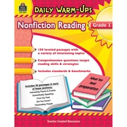 Teacher Created Resources Daily Warm-Ups Nonfiction Reading Activity Book, Grade 1