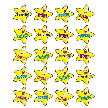 Teacher Created Resources Stickers, Encouraging Stars