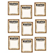 """Teacher Created Resources 6"""" Accents, Western Wanted Posters"""