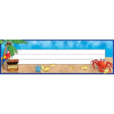 Teacher Created Resources Infant - 6 Grade Flat Name Plate, Island Adventure