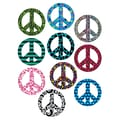 Teacher Created Resources 6in. Accents, Fancy Peace Signs