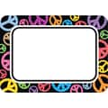 Teacher Created Resources Infant - 6 Grade Name Tag, Peace Signs