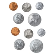 "Teacher Created Resources 6"" Money Accents, Coins"