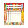 Teacher Created Resources Surfboards Incentive Chart, 5 1/4in. x 6in.