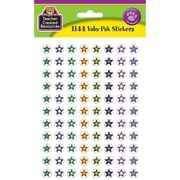 Teacher Created Resources Mini Stickers, Fancy Stars 2 Valu-Pak