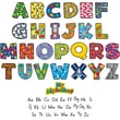 Teacher Created Resources Mini Bulletin Board Display Set, My Alphabet