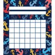 """Teacher Created Resources Anchors Incentive Chart, 5 1/4"""" x 6"""""""
