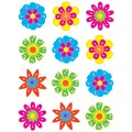 Teacher Created Resources 2.62in. Mini Accents, Fun Flowers