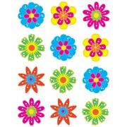 "Teacher Created Resources 2.62"" Mini Accents, Fun Flowers"