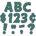 Teacher Created Resources Peacock Funtastic 4in. Letters Combo Pack, Green