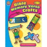 "Teacher Created Resources ""Bible Memory Verse Crafts"" Book"