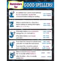 Teacher Created Resources Reminders For Good Spellers Chart, Language Arts