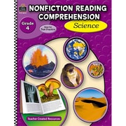 Teacher Created Resources Nonfiction Reading Comprehension: Science Book, Grades 4
