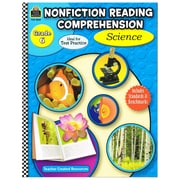 Teacher Created Resources Nonfiction Reading... : Science Grade 6 Book, Language Arts/Reading