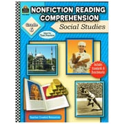 Teacher Created Resources Nonfiction Readin... : Social Studies Grade 6 Book, Language Arts/Reading