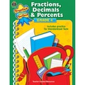 Teacher Created Resources Fractions, Decimals & Percents Resource Book, Grades 4