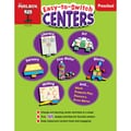 The Mailbox Books® Easy-to-Switch Centers Learning Book, Grade Preschool