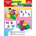 The Mailbox Books® Simply Seasonal: Literacy Activity Book, Grade PreK - K