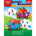 The Mailbox Books® Simply Seasonal: Math Activity Book, Grade PreK - K