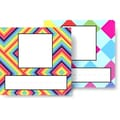 Top Notch Teacher Products® Infant - 6 Grade Picture Plate Twin Pack, Kaleidoscope Colorful Diamonds