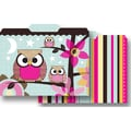 Top Notch Teacher Products® Paper Bag Owls Stitch Stripes File Folder