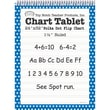 Top Notch Teacher Products® 1 1/2in. Ruled Polka Dot Tablet Flip Chart, Blue