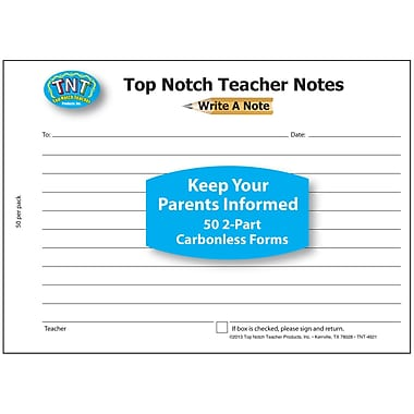 Top Notch Teacher Products® Write A Note Notes