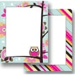 Top Notch Teacher Products® Paper Bag Owls Stitch Stripes Computer Paper Twin Pack