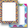 Top Notch Teacher Products® Kaleidoscope Colorful Diamonds Computer Paper Twin Pack