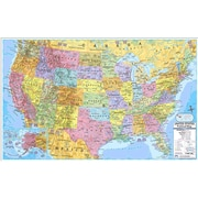 Kappa Map Group Universal Maps U.S. & World Politcal Rolled Map Set