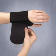 3- Point Products Wrist Wrap NP Adjustable Compression Brace in Black; Small / Medium