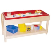 Wood Designs Sand and Water Table with Top/Shelf