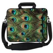 Designer Sleeves Executive Sleeves Peacock PC Laptop Bag; 14''