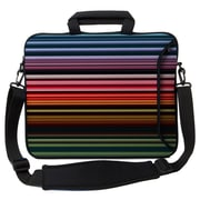 Designer Sleeves Executive Sleeves Retro Stripes PC Laptop Bag; 13''