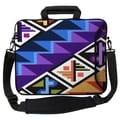 Designer Sleeves Executive Sleeves Tropical Textile PC Laptop Bag; 17''
