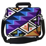 Designer Sleeves Executive Sleeves Tropical Textile PC Laptop Bag; 14''