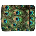 Designer Sleeves Peacock Designer PC Sleeve; 15''