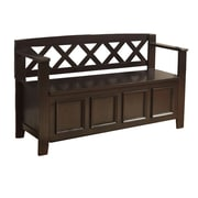 Simpli Home Storage Bench