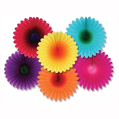 Mini Flower Fans, 6