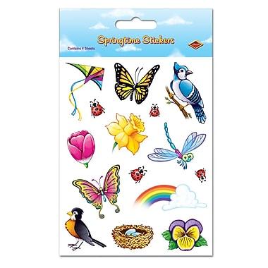 Springtime Stickers, 4-3/4