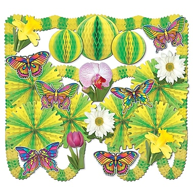 Beistle 25-Piece Spring Fling Arcade Decorator