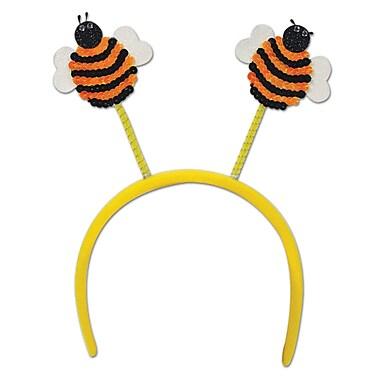 Beistle Adjustable Sequined Bumblebee Boppers, Yellow