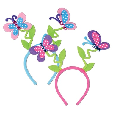 Butterfly Boppers, One Size Fits Most, 3/Pack