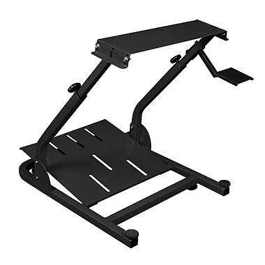 DXRacer® PS1000-N, Driving Simulator Steering Wheel & Pedal Mount, Black
