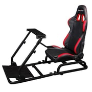 DXRacer® PSCombo300-N, Driving Simulator Fixed Seat, Black